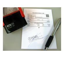 Podpísaný bloček z VRP